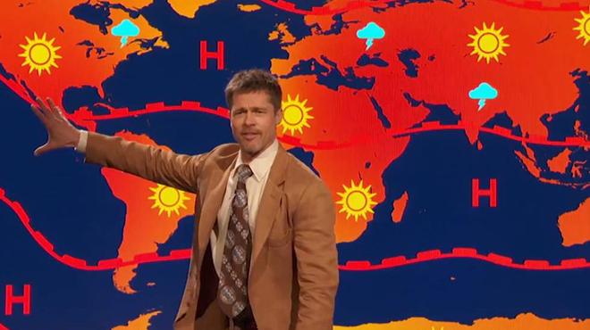 Brad Pitt se queja de que Donald Trump haya sacado a EE.UU. del acuerdo por el cambio climático de París.