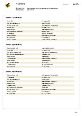 Calendario De La Liga 2020.Liga Bbva 2020 Calendario