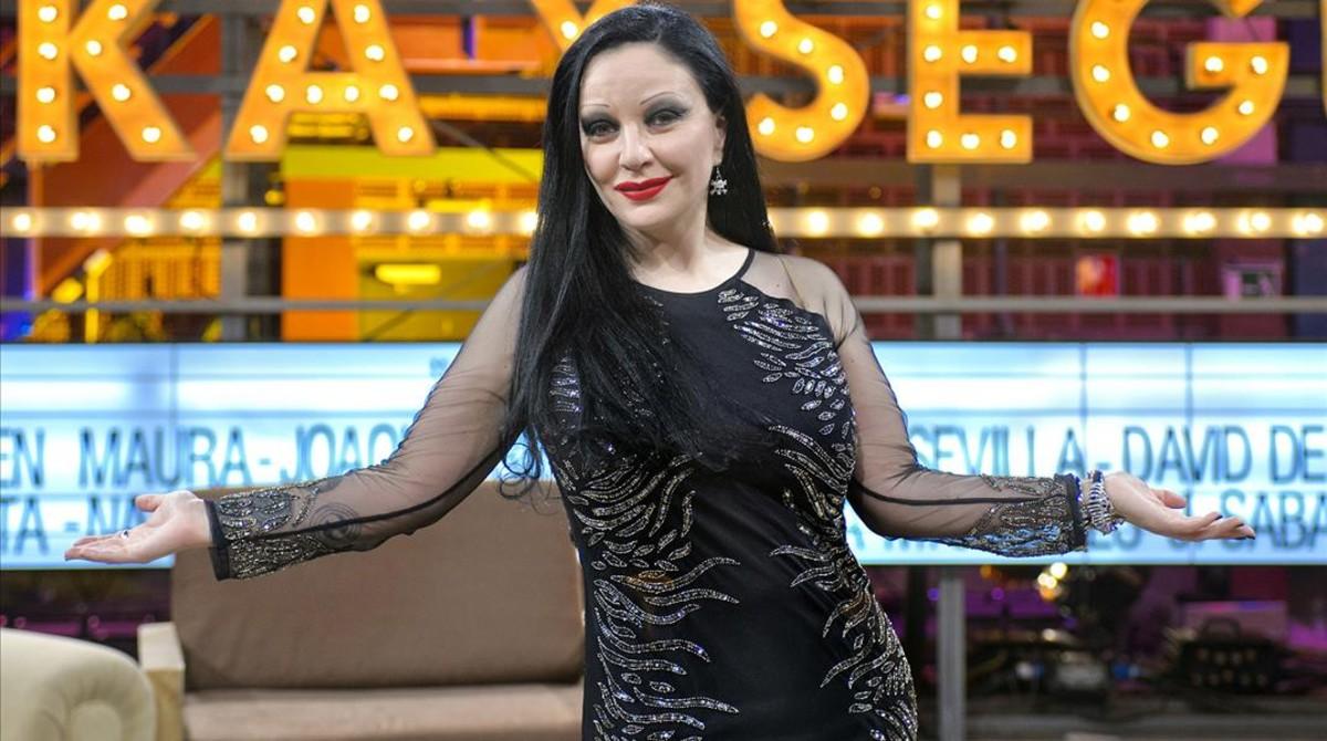 La cantante Alaska (Ciudad de México, 1963)