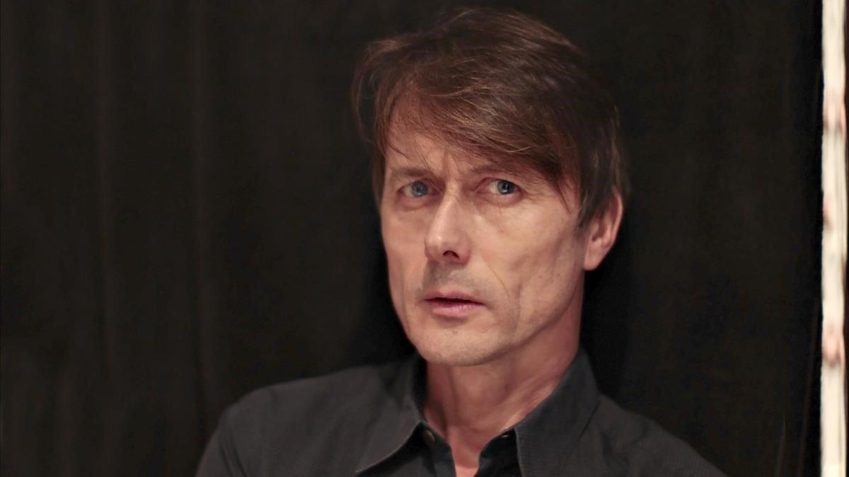 El cantante de Suede, Brett Anderson.