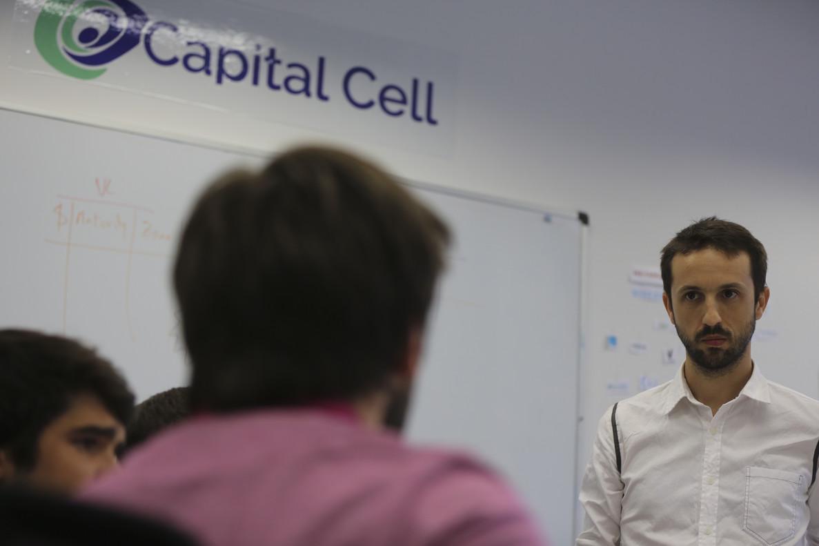 El consejero delegado de Capital Cell, Daniel Oliver; unaplataforma especializada en crowdfunding para empresas biotecnológicas.