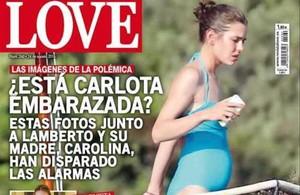 Portada de la revista 'Love' donde publican las fotos del posible embarazo