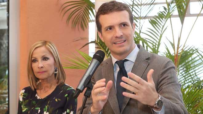 Casado anuncia que recurrirá los decretos abertzales y electorales del Gobierno de Pedro Sánchez.