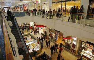 Centro comercial de Diagonal Mar.
