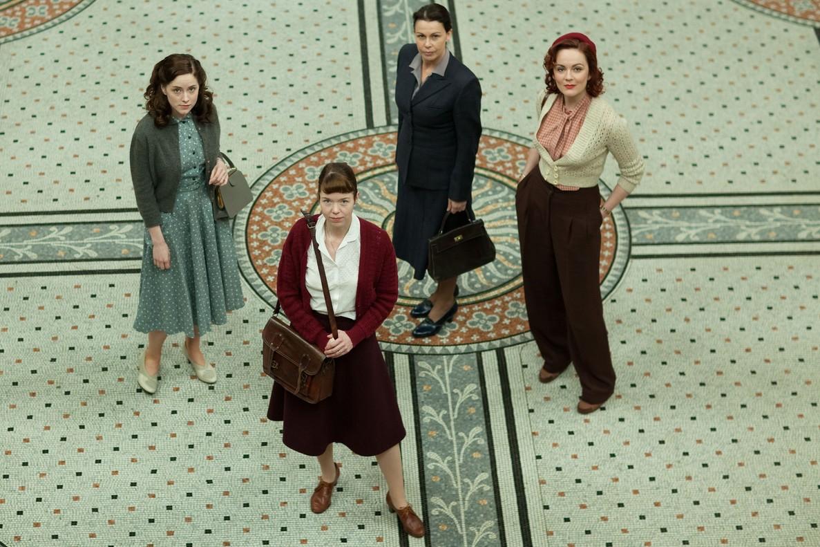 Las protagonistas de El cercle Bletchley.
