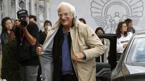 El cineasta francés Bertrand Tavernier, en San Sebastián, donde presenta Las películas de mi vida.