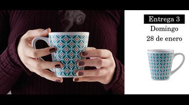 Colección de tazas modernistas de Pilma. Entrega 3