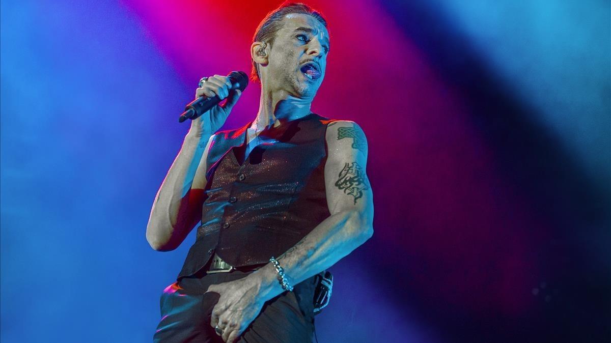 Concierto de Depeche Mode, en el Palau Sant Jordi.