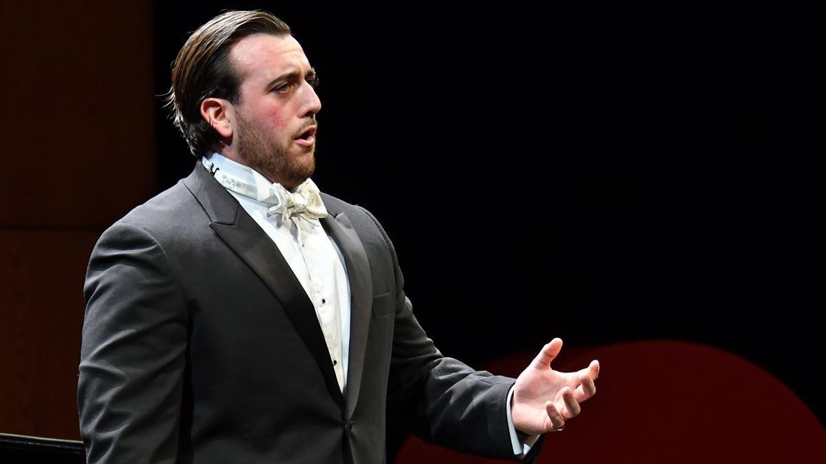 Freddie de Tommaso, ganador del 55 Concurs Internacional de Cant Tenor Viñas.