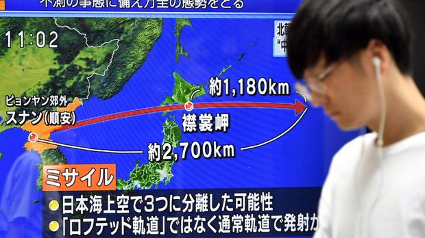 Corea del Norte tensa la cuerda con un misil que sobrevuela Japón