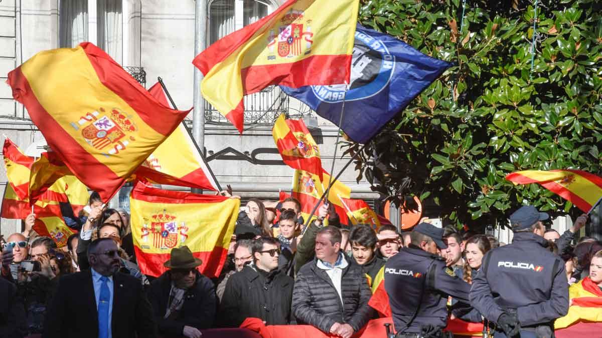 Desbordante españolidad en la celebración de la Toma de Granada.