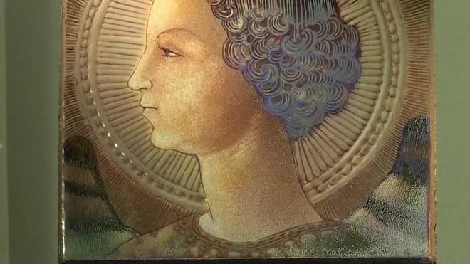 Desvelan la primera obra pictórica de Leonardo da Vinci, un arcángel Gabriel de 1471