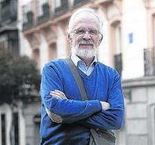 El dibuixant Antonio Fraguas, Forges, a Madrid.