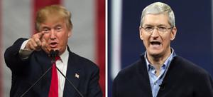 Trump pide boicotear a Apple hasta que cumpla la orden del FBI