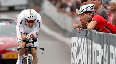 Dumoulin aprieta y Froome decepciona en el inicio del Giro en Israel