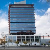Edificio de la Torre Marina, nueva sede del Registro de la Propiedad.