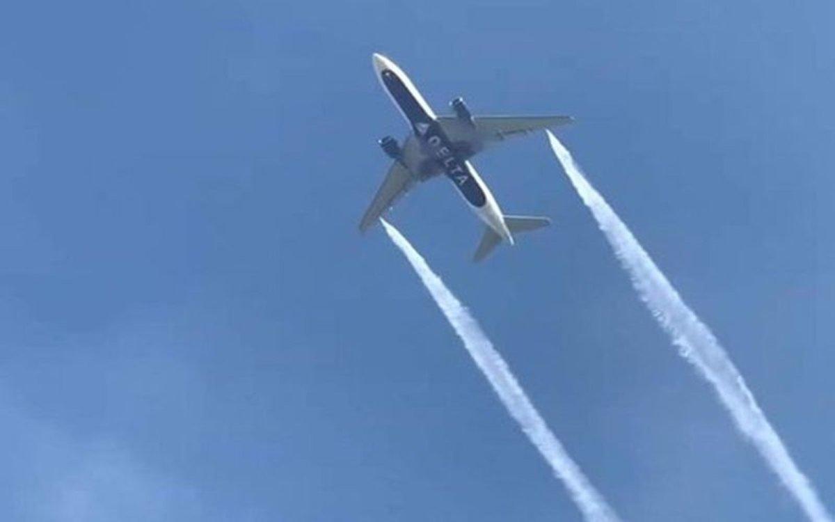 Avión en situación de emergencia en los EEUU.