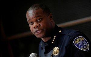 La'Ron Singletary, jefe de la Policía de Rochester, Nueva York.