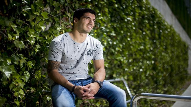 Luis Suárez: Si he llegado a algún sitio es porque soy muy terco.