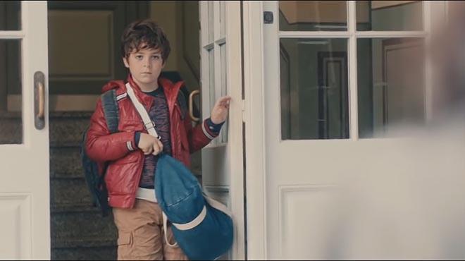 Un niño protagoniza el espot que ilustra el tema del ictus, en La Marató de TV-3 del 2016.