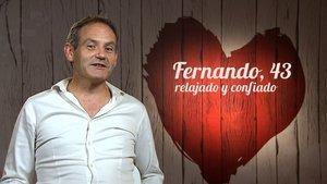 Fernando, el comensal que ha sido rechazado en tres ocasiones en 'First Dates'.