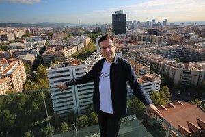 Ferran Punti, consejero delegado de The Breach Studios, en la sede de Mediapro.