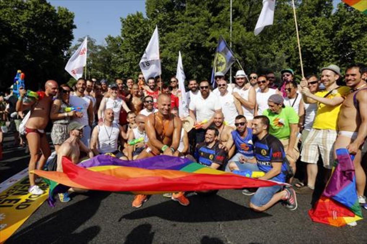 Fiesta de Orgullo Gay 2015, en Madrid.