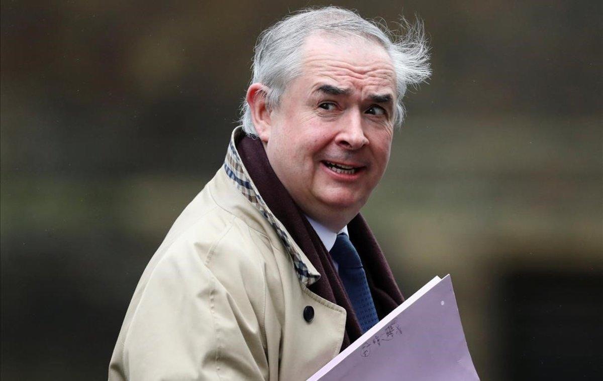 El fiscal general británico, Geoffrey Cox.
