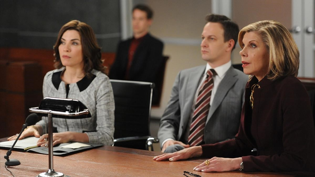 Fotograma de la serie The Good Wife.