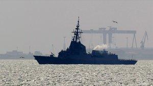"""Exteriores admite conversaciones con EEUU por la fragata pero niega una """"queja formal"""""""
