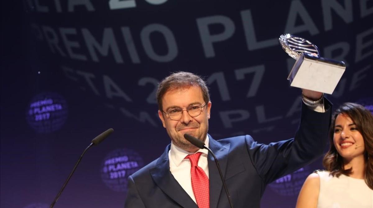 El ganador del Premio Planeta, Javier Sierra.