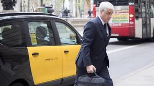 El juez vuelve a citar a Gordó por el 'pitufeo' del 'caso 3%' para el día 11