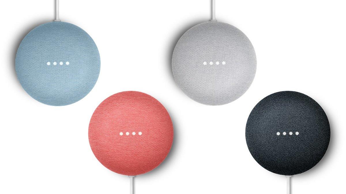 El último altavoz inteligente de Google.