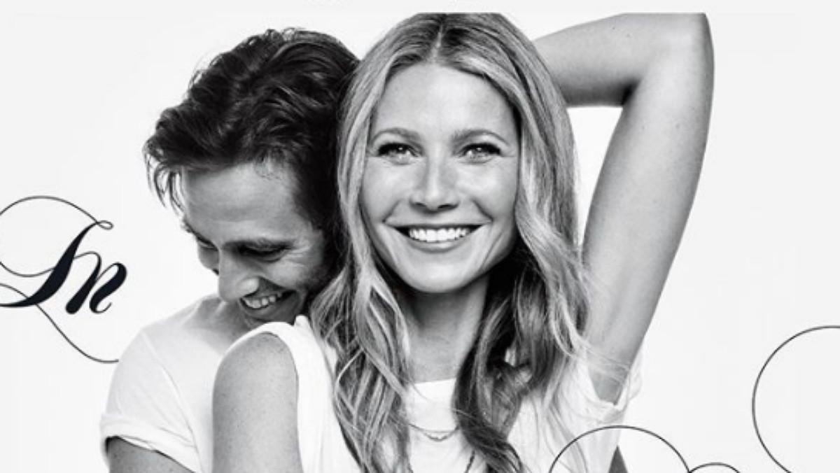 Gwyneth Paltrow ha anunciado este lunes en su revista Goop y en Instagram su compromiso con el productor televisivo Brad Falchuk.