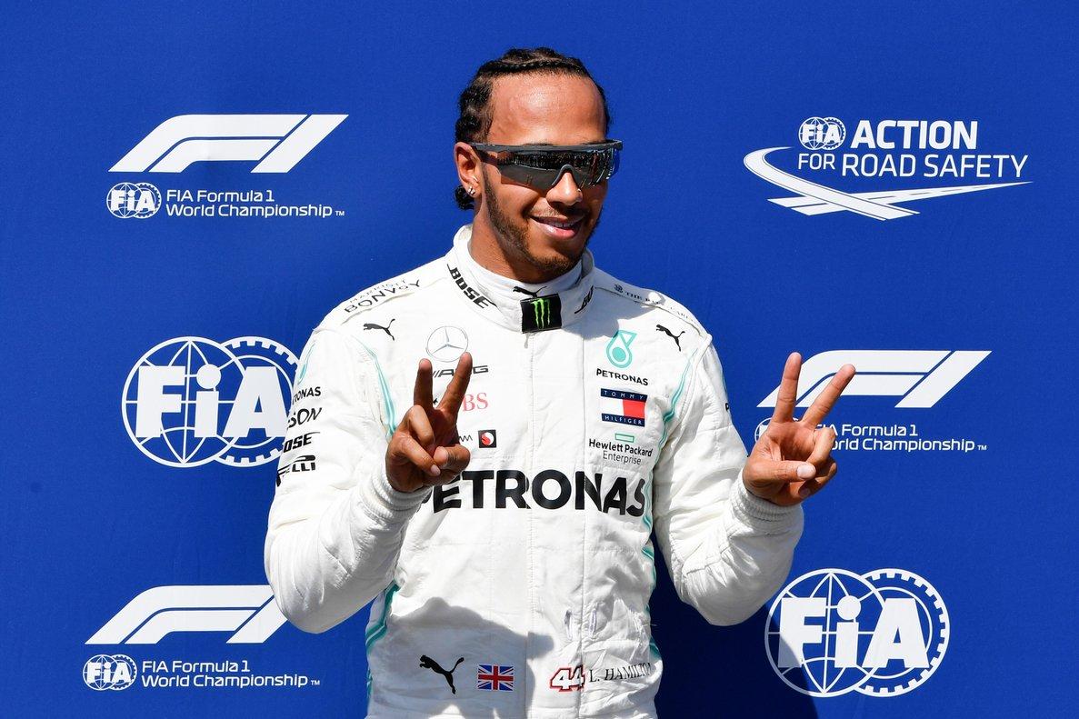 Hamilton ja ni recorda Vettel