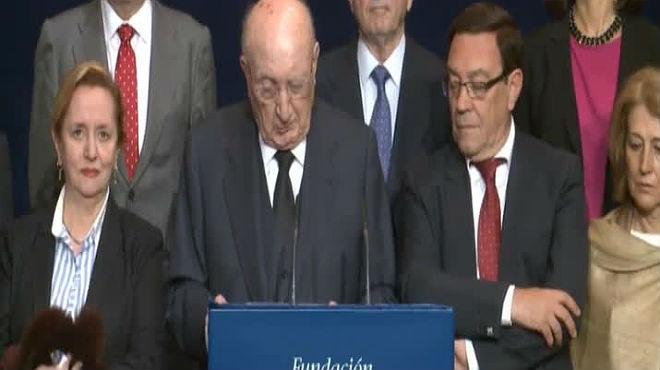 El historiador francés Joseph Pérez, Premio Príncipe de Asturias de Ciencias Sociales .