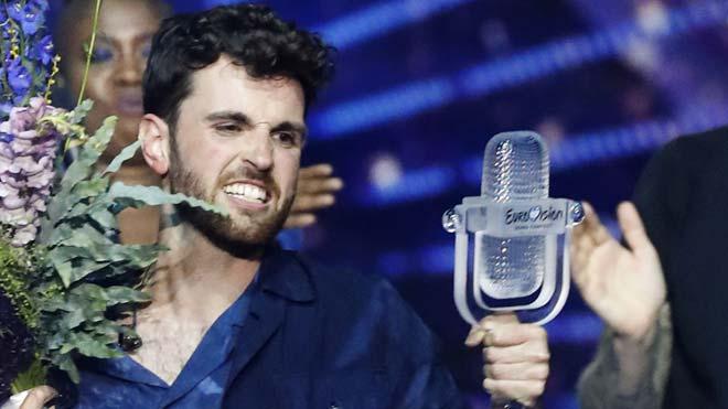 Duncan Laurence pone a Países Bajos en el primer peldaño de Eurovisión 2019.