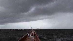 El panorama es sombrío en Florida por el huracán Dorian.