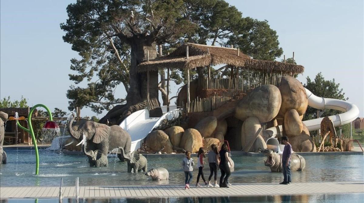 El nuevo resort África del cámping Sangulí de Salou.