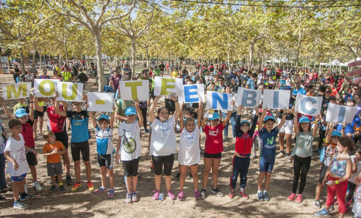 Imagen de la BaixCletada celebrada en 2017 en el Baix Llobregat