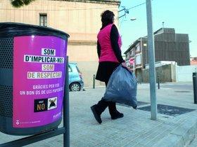 Imagen de una campaña por el civismo en Viladecans