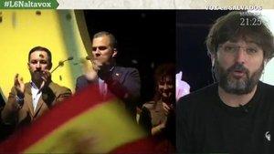 """Jordi Évole lanza un zasca a Ortega Smith tras dar positivo en coronavirus: """"Gracias por no dejarnos entrar en vuestros actos"""""""