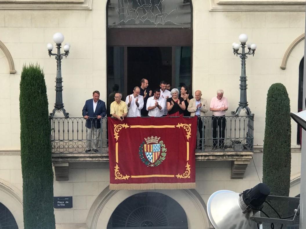Inauguración de la fiesta mayor de Badalona.