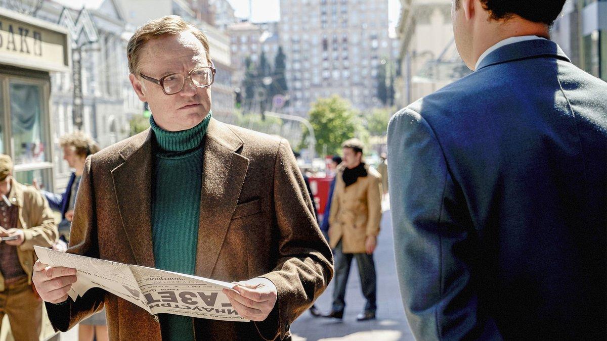 Jared Harris, en un fotograma de 'Chernobyl', la serie de HBO