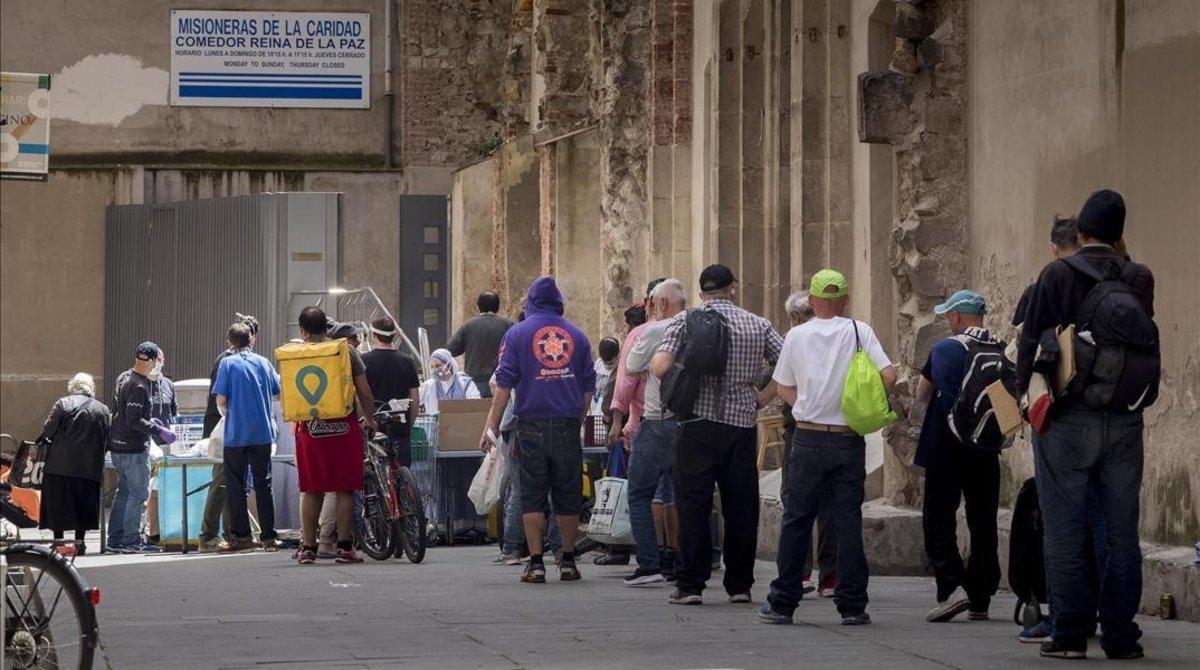 El Raval, zona cero del derrumbe del mito Barcelona