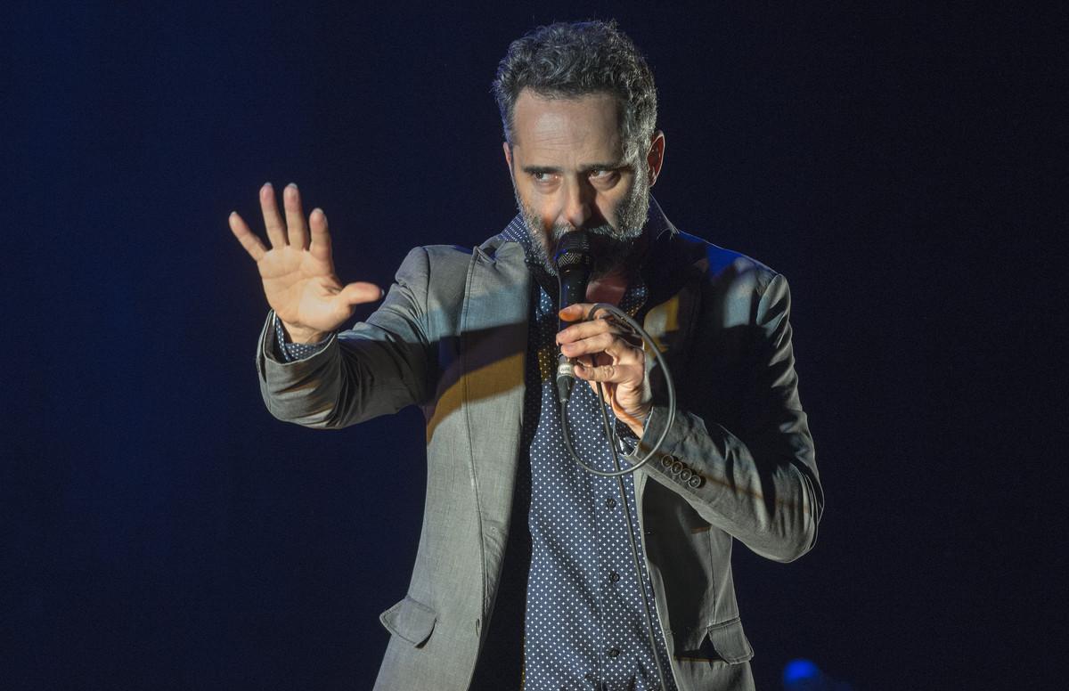 Jorge Drexler, durante un concierto en el Liceu el pasado enero