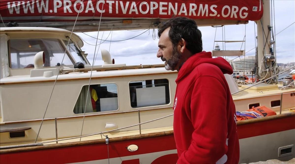 Oscar Camps, fundador de la oenegé Proactiva Open Arms