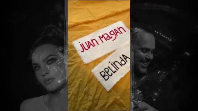 Juan Magán y Belinda en el vídeo de la canción 'Madrid x Marbella'.
