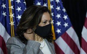 Kamala Harris, aspirante demócata a la vicepresidencia de los EEUU.