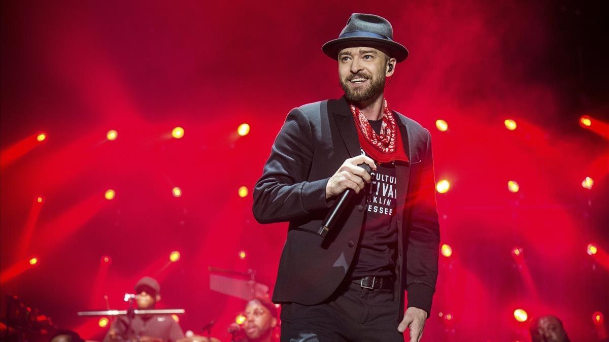 Justin Timberlake cancela su actuación en Barcelona del 12 de julio
